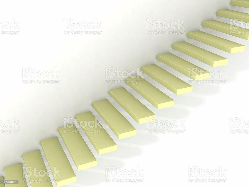 Stairway up royalty-free stock photo