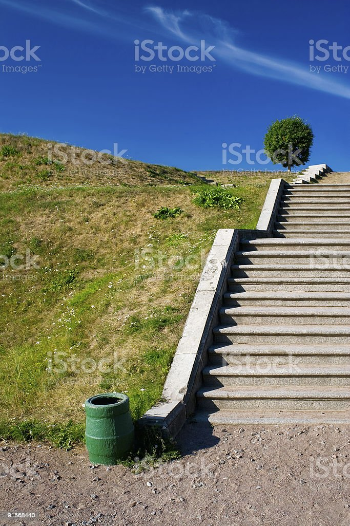 Stairways to the sky-5 royalty-free stock photo