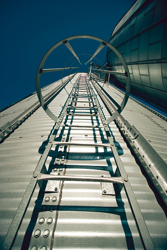 Stairways To The Top Of The Silo