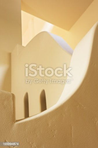 168248826 istock photo Stairwell Handrail Architecture Arches 155394874
