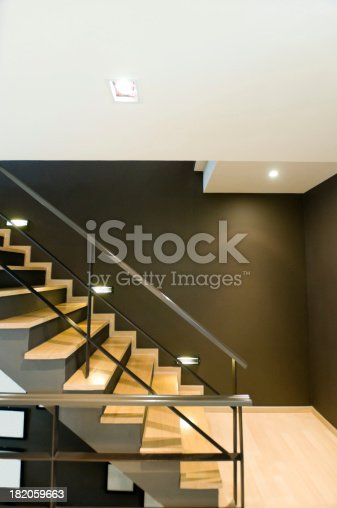 187200991 istock photo Stairwell in a modern building 182059663