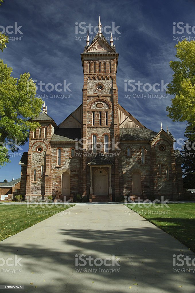 Stake Tabernacle stock photo
