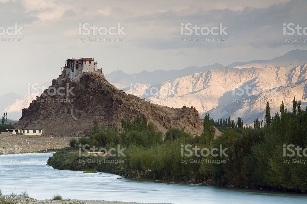 Stakna Gompa royalty-free stock photo