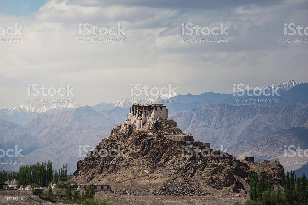 Stakna Monastery,Leh Ladakh. stock photo