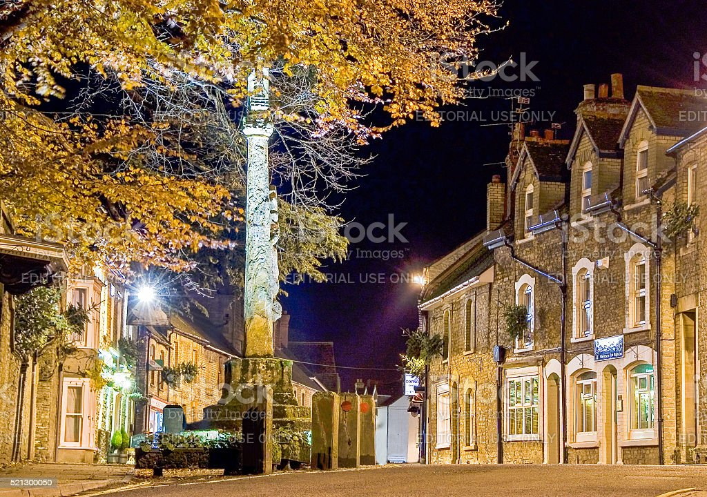 Stalbridge Market Cross stock photo