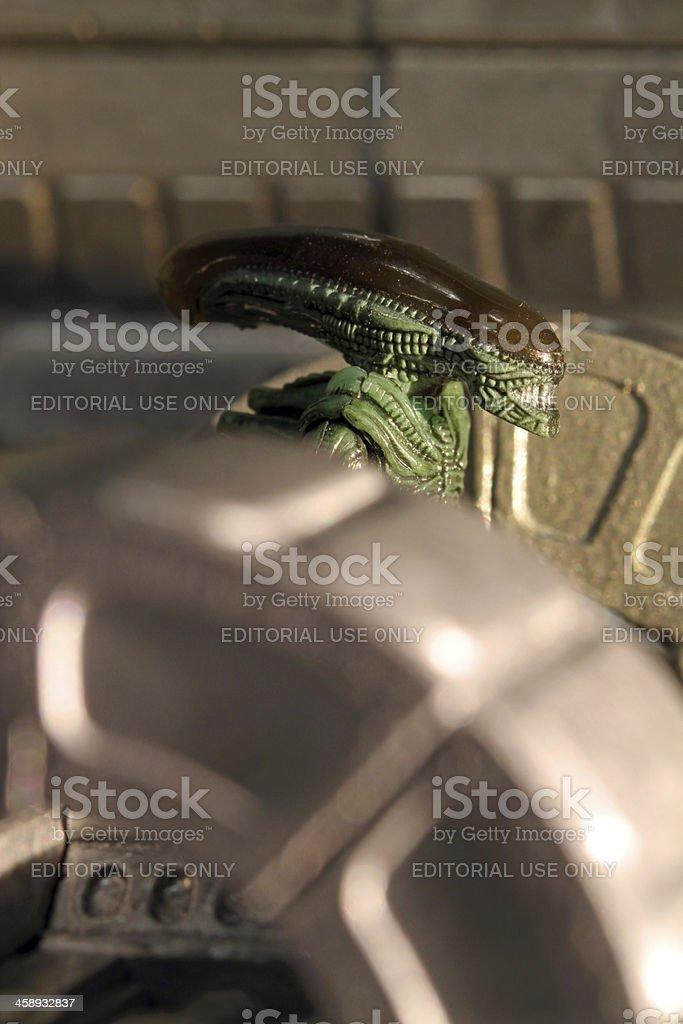 Stalking through the Nostromo royalty-free stock photo