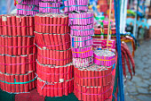 Stall with collection of Fireworks