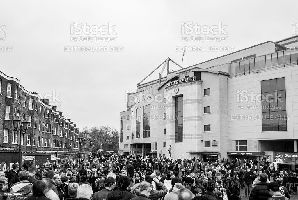 Stamford Bridge stock photo