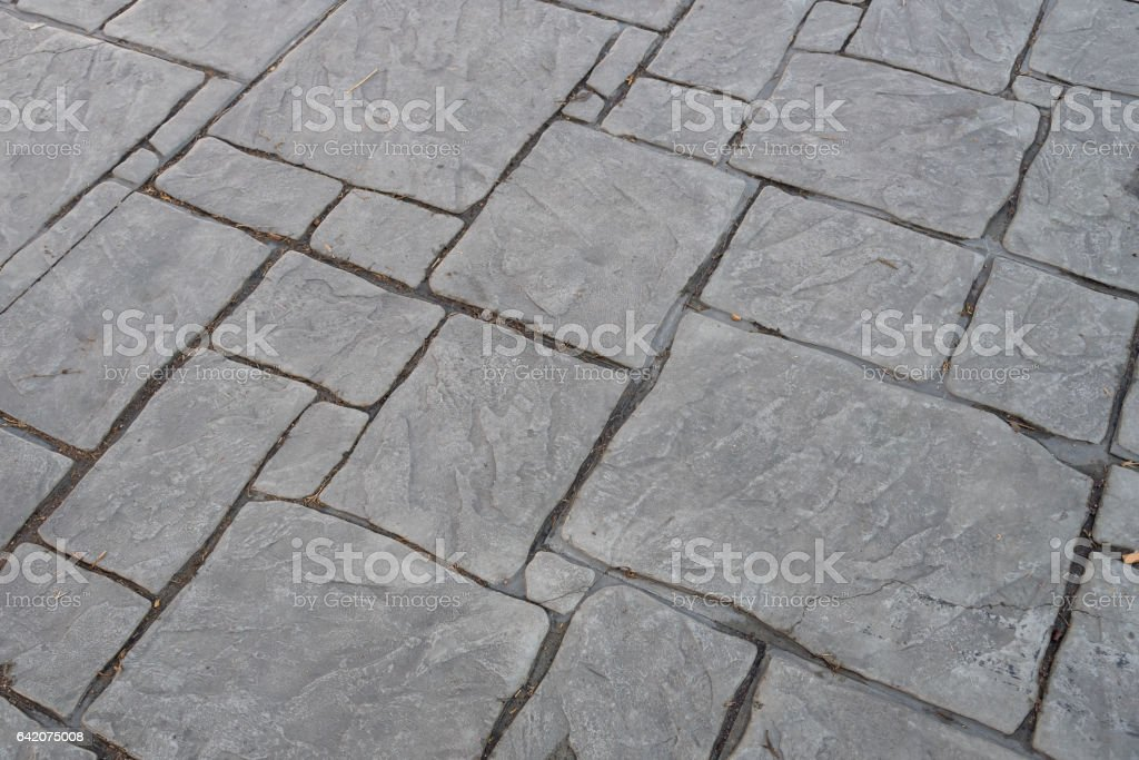 Stamp concrete texture pattern and background. stock photo