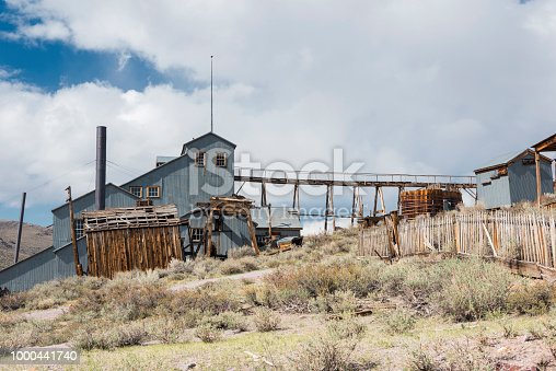 Stamp Mill in Bodie, abandoned mining town.