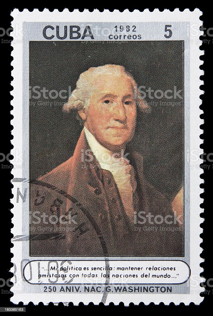 Stamp royalty-free stock photo