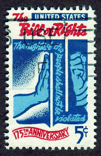 USA Stamp: The Bill of Right