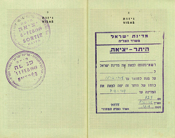 Israel Rubber Stamp Passport Pictures Images And Stock Photos