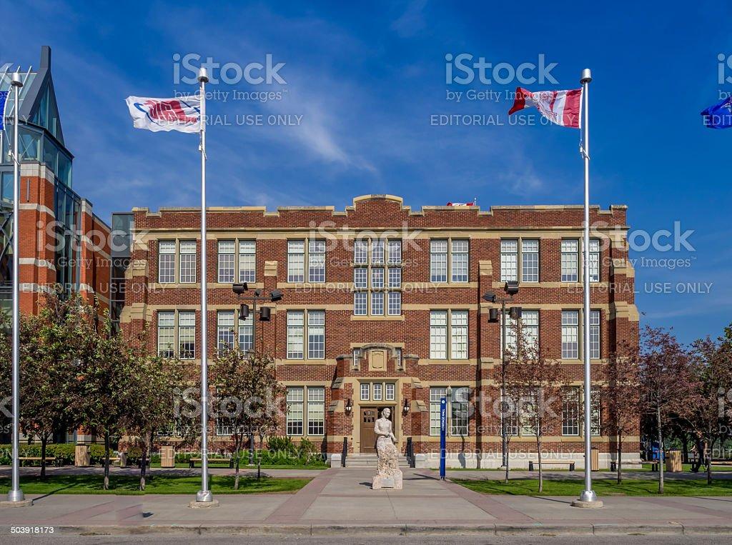 Stan Grad Centre, SAIT stock photo
