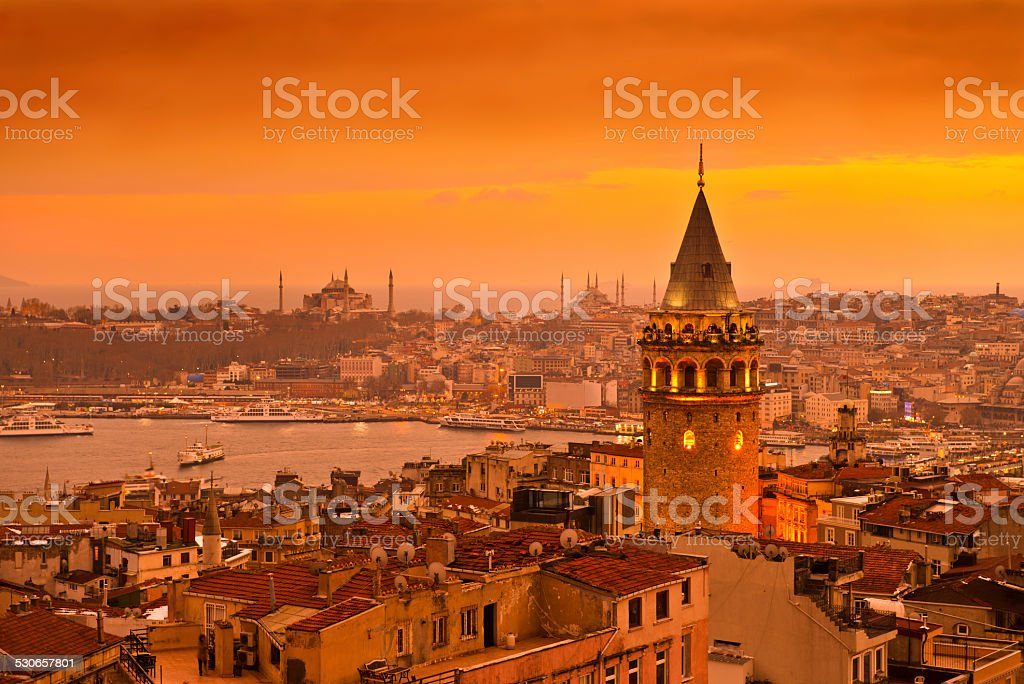 İstanbul Turkey stock photo