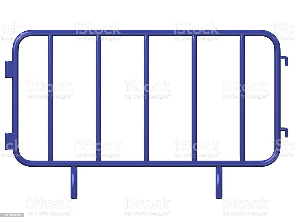 stand barrier stock photo