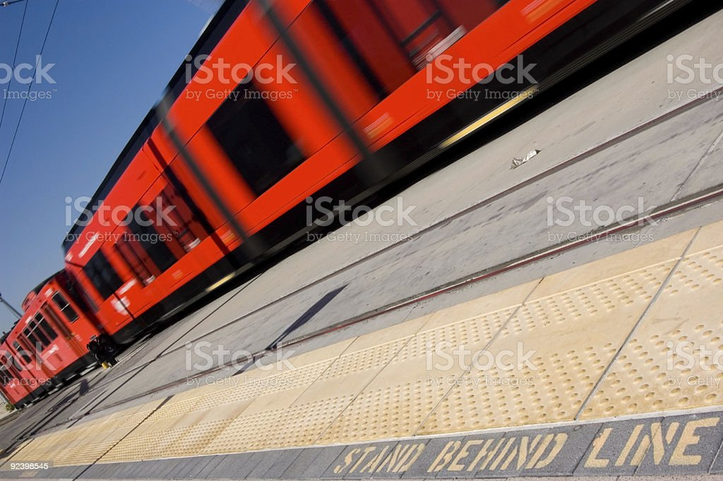 Stand Behind Line royalty-free stock photo