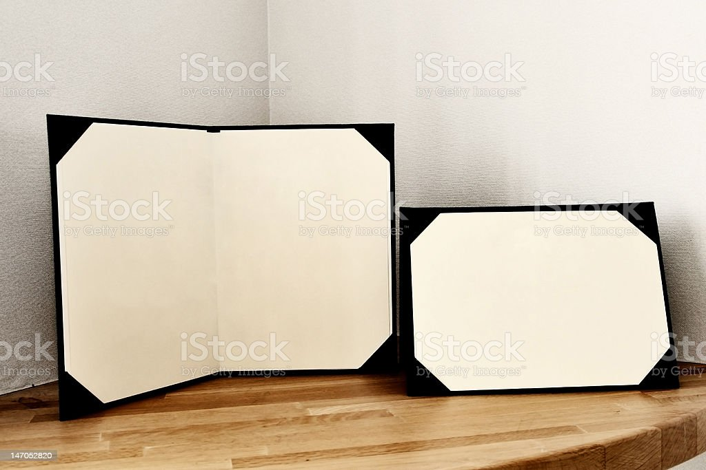 Stand Book stock photo