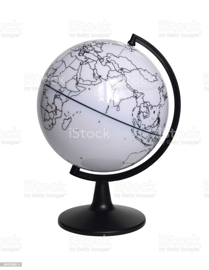 Stand for the globe royalty-free stock photo