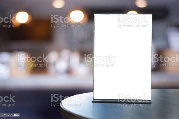 Stand mock up menu frame tent card blurred background design key picture id921720464?b=1&k=6&m=921720464&s=612x612&h=o9eypgtnhut7w9iitp31pkalvxncnu1u za3aft azy=