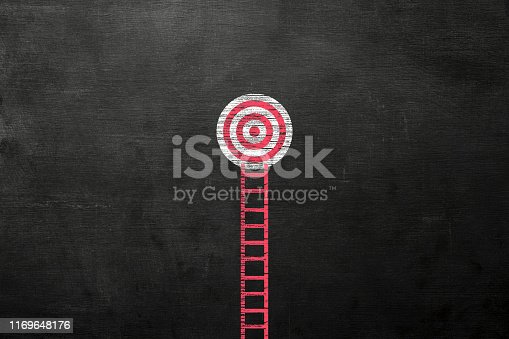 938669816 istock photo Stand out from the crowd and different creative idea concepts on blackboard 1169648176