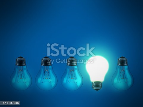 istock Stand out from the crowd 471192940