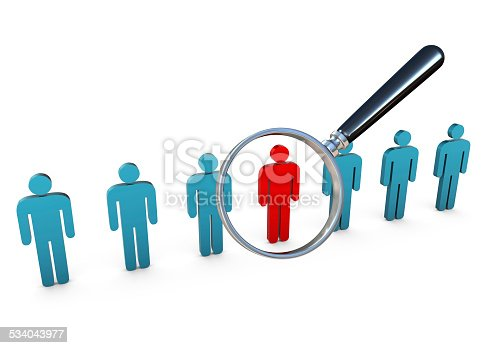 istock Stand Out From The Crowd 534043977