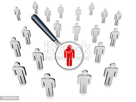 istock Stand Out From The Crowd 534044001