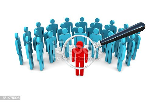 istock Stand Out From The Crowd 534075903