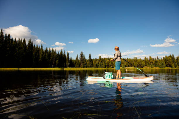 Stand up Paddle Angeln – Foto