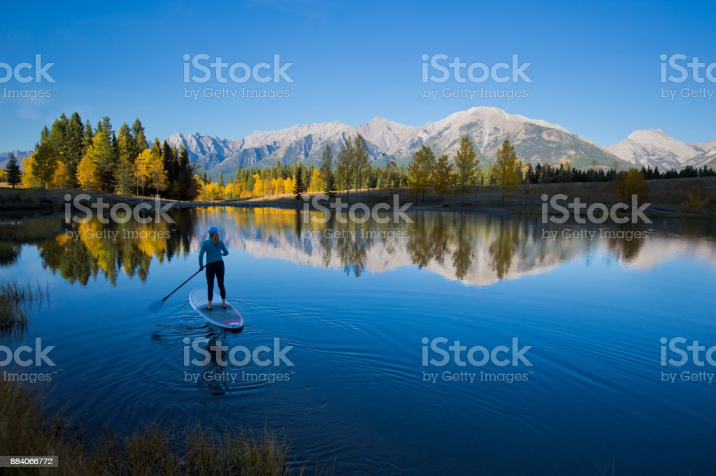 Stand Up Paddleboard stock photo