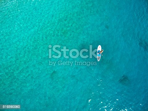 istock Stand Up Paddling 519390060
