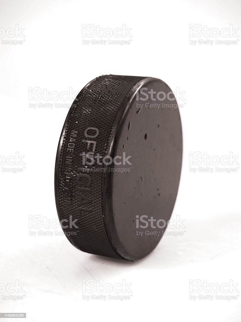 Stand Up Puck royalty-free stock photo