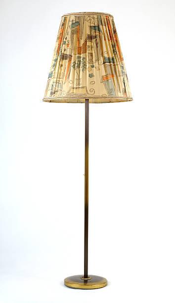 Standard lamp stock photo