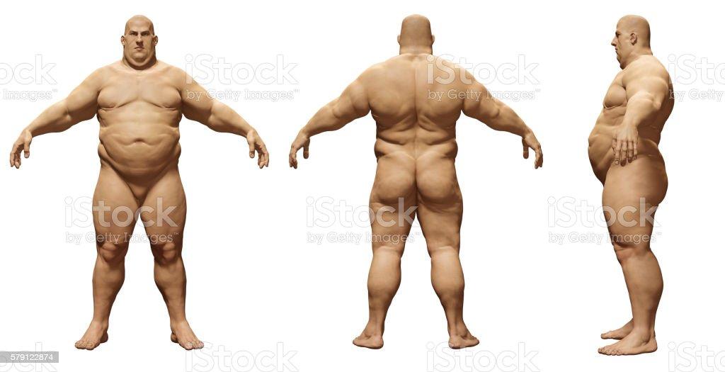 Slightly overweight guy