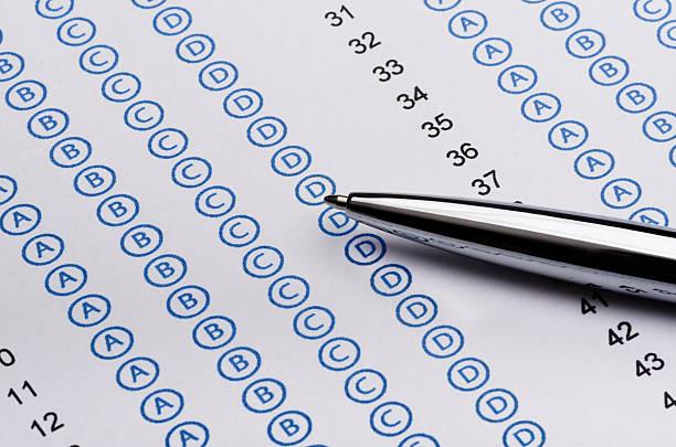 standardisierte test - multiple intelligenz umfrage stock-fotos und bilder