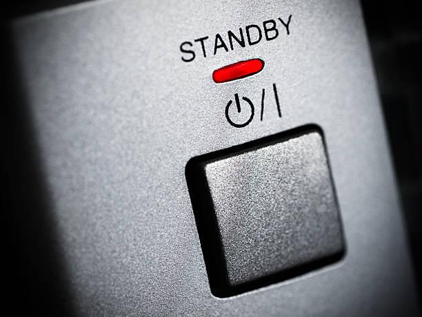 standby-push button - hajohoos stock-fotos und bilder