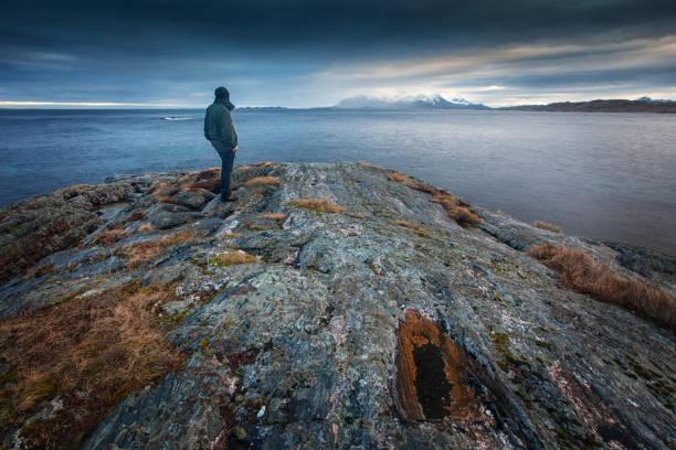 An der Küste von Kristiansund im Nordwesten Norwegens – Foto