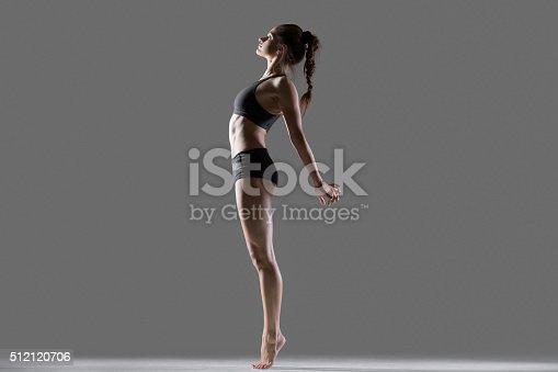 istock Standing backbend exercise 512120706