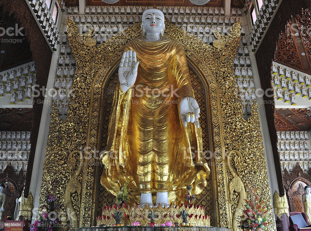 Standing Buddha royalty-free stock photo