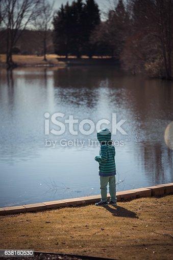 619670604 istock photo Standing next to lake 638160530