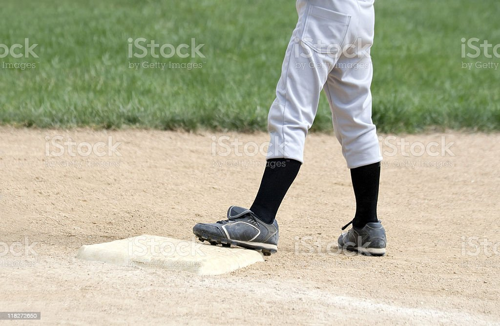 Standing on base royalty-free stock photo