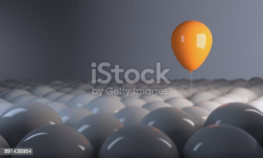 istock Standing Out From The Crowd 891436954