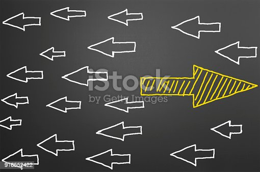 628616360 istock photo Standing Out From The Crowd 916552422