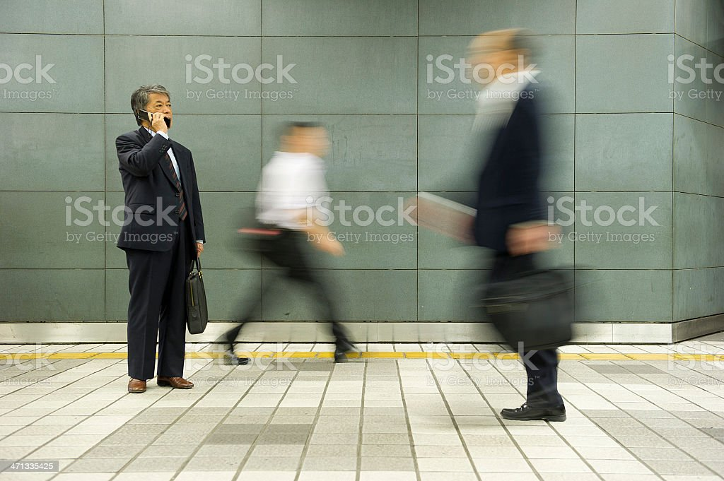 Standing Out royalty-free stock photo