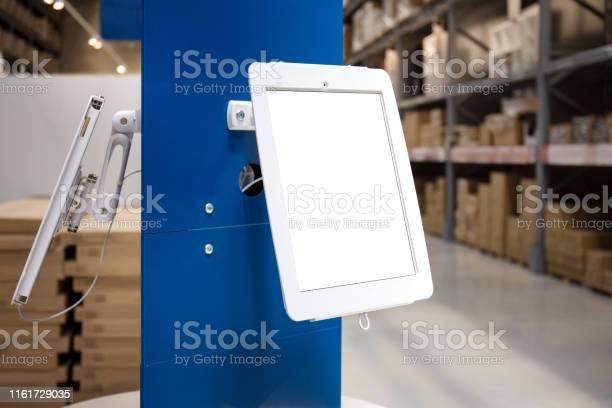 Standing platform with information blank tablet display picture id1161729035?b=1&k=6&m=1161729035&s=612x612&h=t9y27s9q8c5hv4jbwcavdvz9vvbdociykl93ixqvby8=