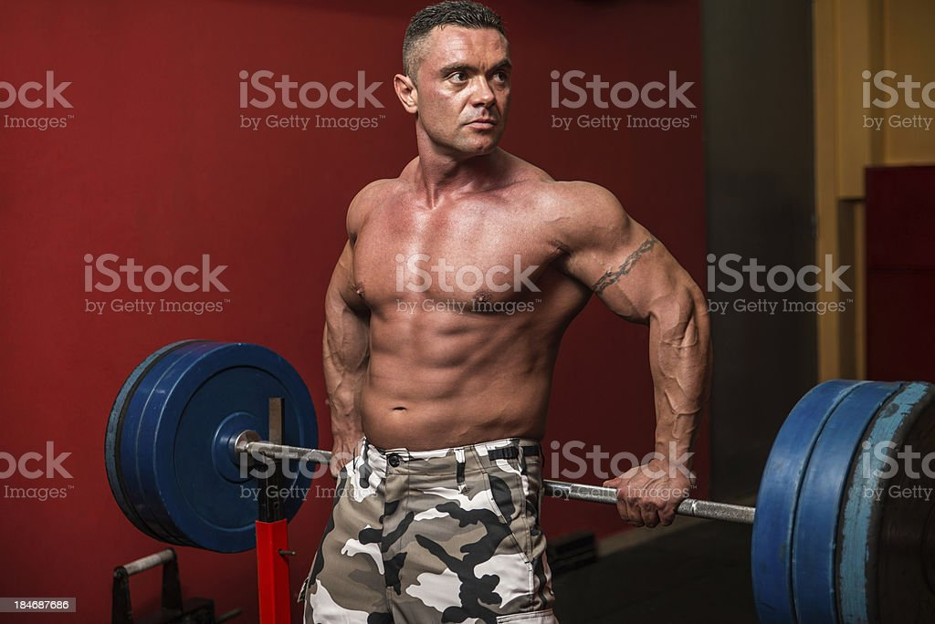 Standing Strong royalty-free stock photo