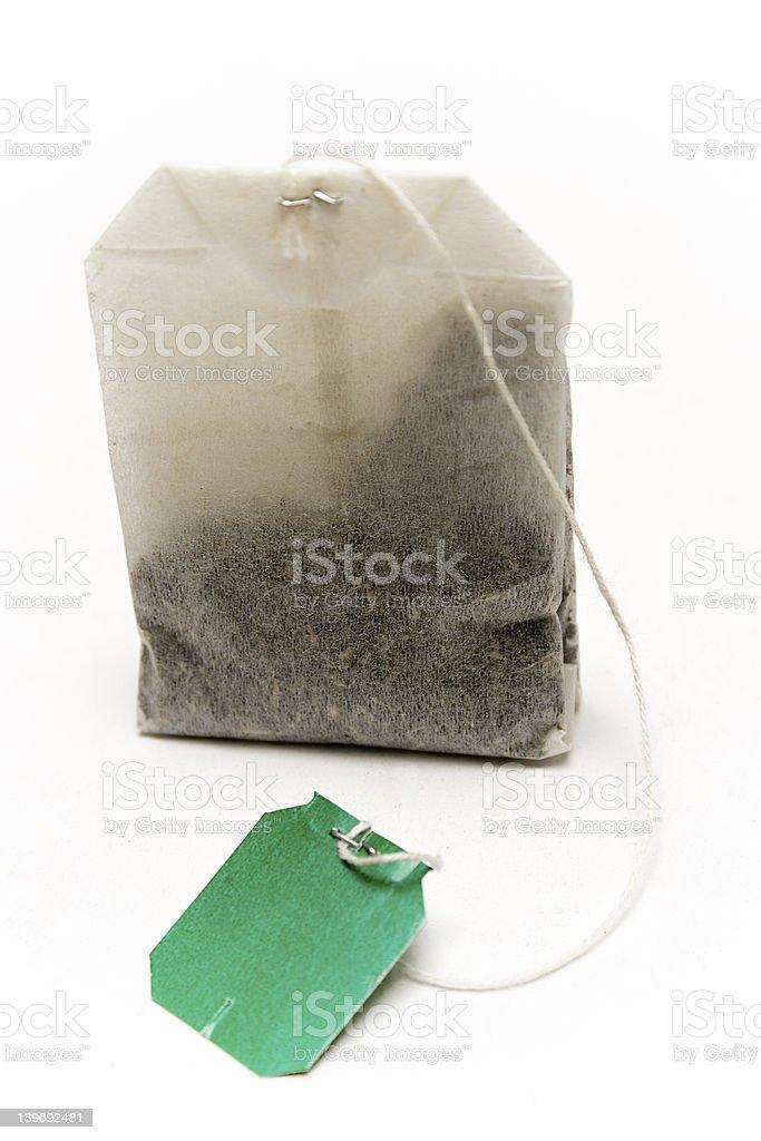 Standing Tea Bag royalty-free stock photo