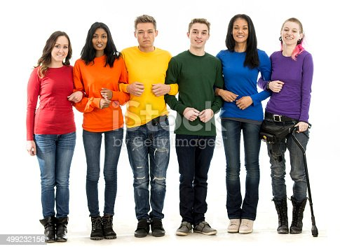 istock Standing Together for Gay Pride 499232156