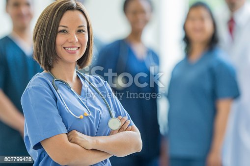 istock Standing Together 802799428